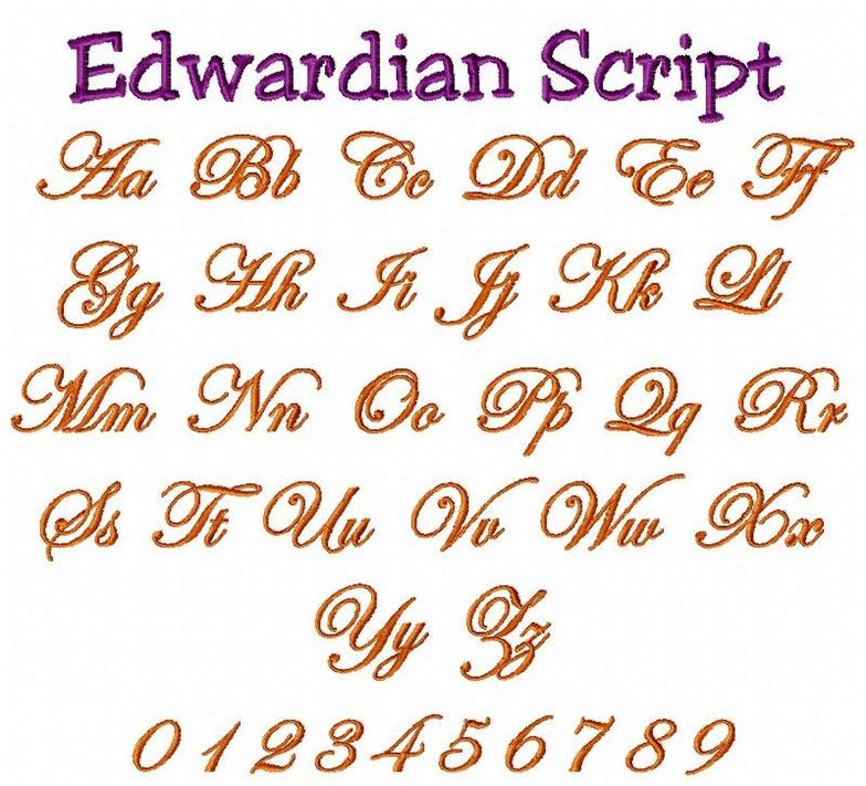 Pin Edwardian-script-font-style on Pinterest