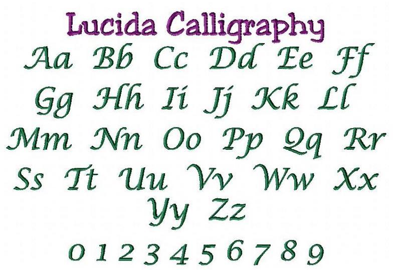 Lucida Calligraphy Italic Font Grosir Baju Surabaya