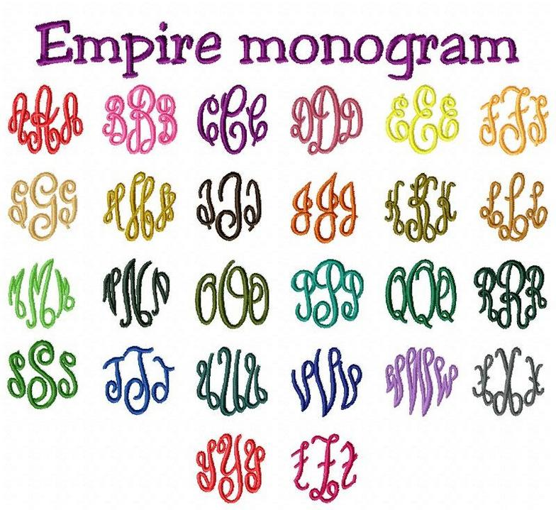 Free monogram fonts for embroidery best cars